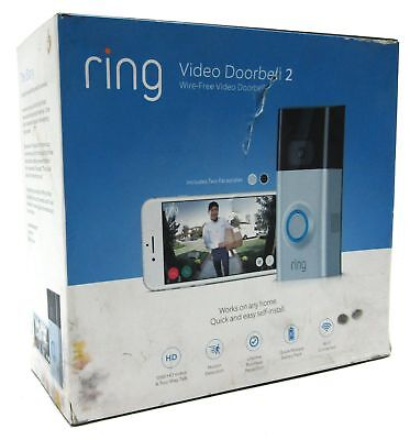 New Ring Video Doorbell 2, Wireless | 1080 HD & Two-Way Talk | Motion Detection