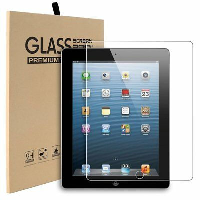 "TEMPERED GLASS SCREEN PROTECTOR APPLE IPAD Air 9.7"" 2/3/4 Mini 1/2/3/4/Pro 10.5"""