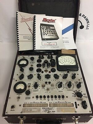Vintage Classic Hickok High End Tube Tester Model 539B - Tested And Works !!!