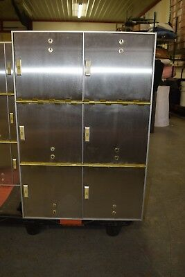 Red Hawk Safety Deposit Boxes 6 Drawers