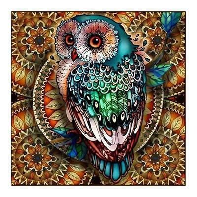 5D DIY Full Drill Diamond Painting Eagle Cross Stitch Embroidery Mosaic Kit #ORP