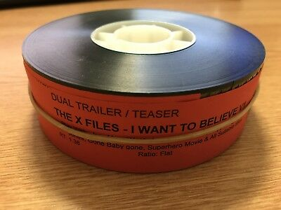 35mm X-Files I Want To Believe Trailer
