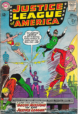 Justice League Of America #24 DC Comics 1960s 2nd Appearance of Kanjar Ro VG+