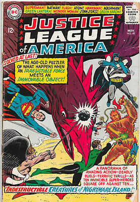 Justice League Of America #40 DC Comics 1960s VG+