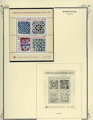 Portugal Scott Specialized Album Page Lot #103 - SEE SCAN - $$$