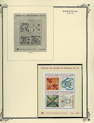 Portugal Scott Specialized Album Page Lot #112 - SEE SCAN - $$$