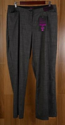NWT Lane Bryant T3 Classic Trouser Black Tighter Tummy Technology Pants Size 16