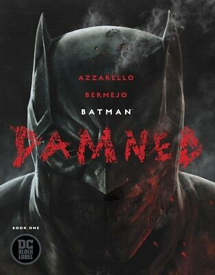 Batman Damned #1 Dc Comics Near Mint Free Top Loader First Print Uncensored