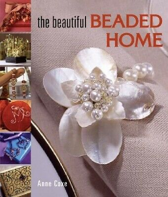 """Book """"Beautiful Beaded Home """" by Anne Cox with 42 Projects *"""