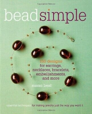 """Book """"Bead Simple"""" by Susan Beal 150 Designs & Essential Techniques"""