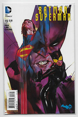 Batman Superman #13 DC Comic 2013 Ben Oliver 1:25 Variant Cover Greg Pak Jae Lee