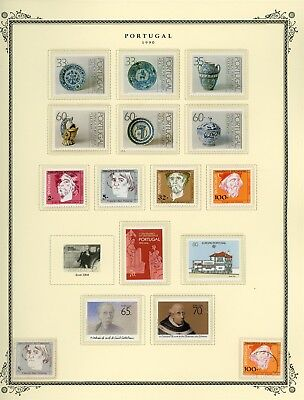 Portugal Scott Specialized Album Page Lot #143 - SEE SCAN - $$$