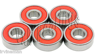 5 Bearings 6304 2RS 20x52 Heavy Duty Bearing 20 x 52
