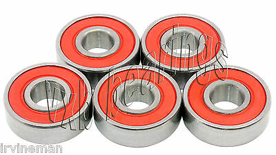 5 Bearings 6204 RS1 Sealed Ball Bearing Electric Motor