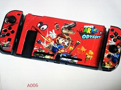 Nintendo Switch Protective Cover Shell,Carry Case, Mario, Zelda Pokemon,Splatoon