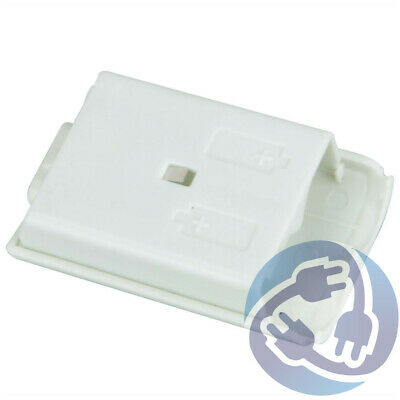White Replacement Battery Pack Cover Shell Clip Xbox 360 Wireless Controller