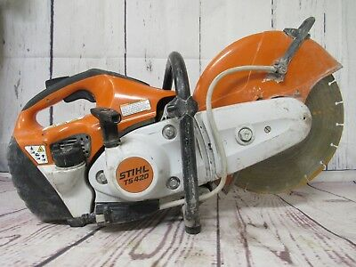 Stihl TS420 Gas Powered Concrete Cut-Off Saw