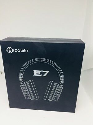 COWIN E7 Active Noise Cancelling Bluetooth Headphone w/microphone BLACK