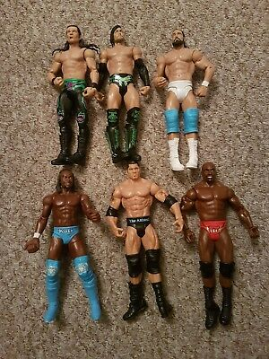 WWE wrestling figure bundle