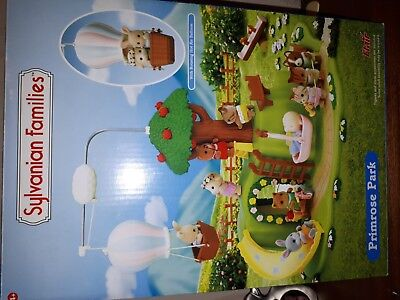 Sylvanian Families Primrose Park,, Boxed...in very Good Condition