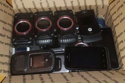 Lot of 43 Cell Phones for Scrap, Parts, Repair, Tech Sculpture, Whatever