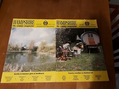 Two Hampshire County Magazines May 1988 April 1989, Bournemouth & Christchurch