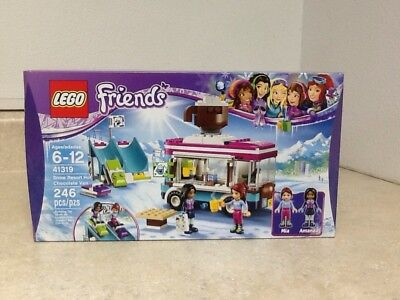 New Lego Minifig Chocolate Ice Cream Brown Scoop Wtan Cone Girl
