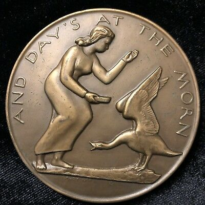 Society of Medalists Bronze Medal # 57 Charles Rudy
