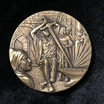 Society of Medalists Bronze Medal # 107 Di Lorenzo Excalibur