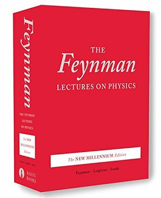 The Feynman Lectures on Physics, boxed set: The New Millennium Edition by Fey…