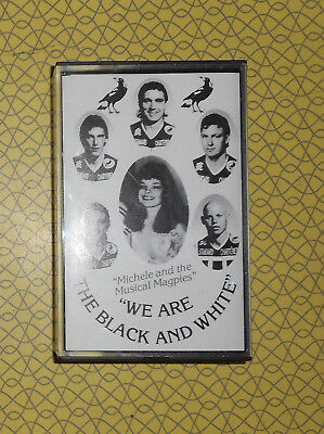 "PORT ADELAIDE FOOTBALL CLUB AUDIO CASETTE ""MICHELE & THE MUSICAL MAGPIES"" 1990s"