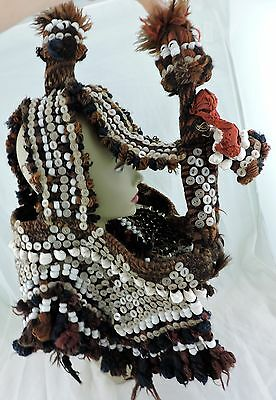 Antique Camel Headdress/halter Trapping Saudi Arab Middle Eastern Bedouin Wool 1