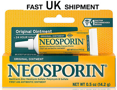 NEOSPORIN ORIGINAL ANTIBIOTIC MAX STRENGTH 0.5oz (14.2g) UK SAME DAY POST