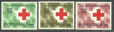 Portugal 1965 - 100 years Portuguese Red Cross set MH
