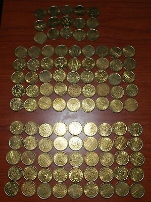 Lot Of 115 Cinemark Theater Arcade Game Tokens Coins No Cash Value