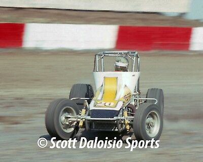 1979 DOUG WOLFGANG 8 x 10 ASCOT NON WING SPRINT CAR Photo