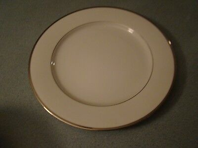 Nikko Band Of Platinum Dinner Plate Free U.s. Shipping!