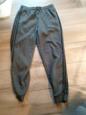Adidas Regular Tapered Pants Mens Tricot Essentials Athletic 3-Stripe Joggers