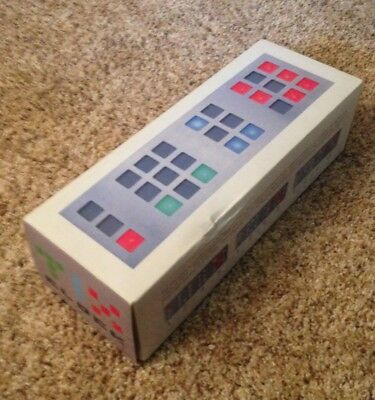TIX Silver Cube Root Digital Color LED Pattern Clock (Free US Priority Shipping)
