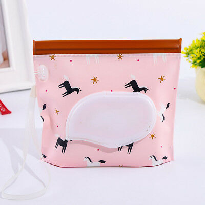 Clutch & Clean Wipes Carrying Cases Eco-friendly Wet Wipes Bag Cosmetic Pouch AU