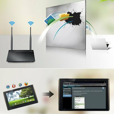 ASUS RT-N12+ 300Mbps 2.4GHz Wireless Router/AP/Range Extender with 2 Antenna AZ