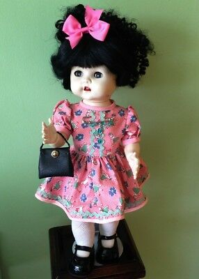 **REDUCED FOR 2019** STUNNING Vintage Pedigree doll 16 Inch, FAB outfit +stand