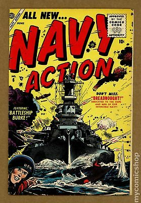 Navy Action #6 1955 FN- 5.5