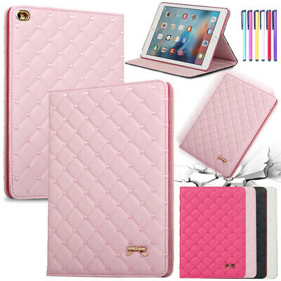 Luxury Leather Smart Case Stand Flip Cover iPad 9.7 6th 2018 Air 2 Mini 4 3 2 1