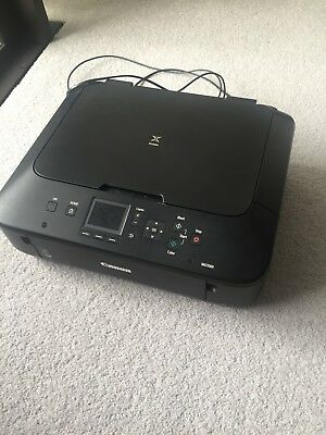 Canon Pixma MG5560 Printer Used Black