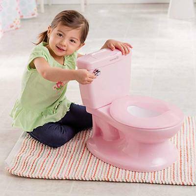 Summer Infant My Size Potty (Pink) - Training Toilet for Toddler Girls - with