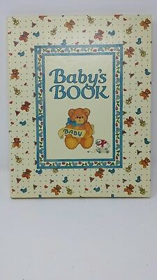Unused Vintage Bears C.R. Gibson Lucy Rigg Baby's Book Record Photo Album 1986