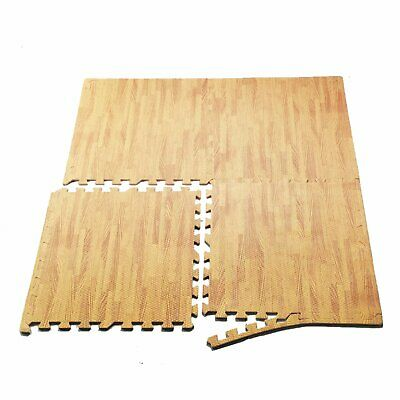 24-1200 Sq Ft Interlocking Eva Foam Floor Puzzle Work Gym Mats Puzzle Mat Wooden
