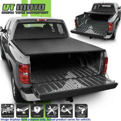 2007-2013 Chevy Silverado GMC Sierra TriFold Tonneau Cover 5.8Ft Short Bed