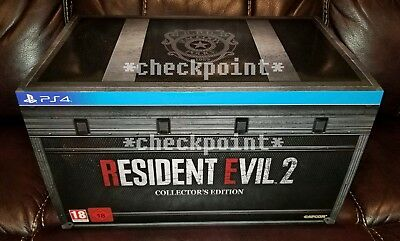 NEW Resident Evil 2 Remake Collector's Edition (for PS4) EU Exclusive SEALED!